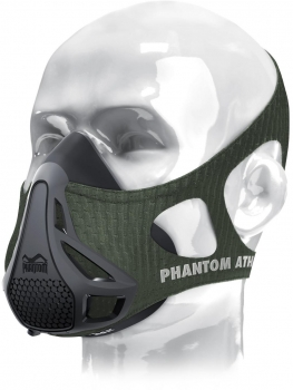 Phantom Athletics Sleeve Trainingsmaske, Grün, Gr. L *ANGEBOT*