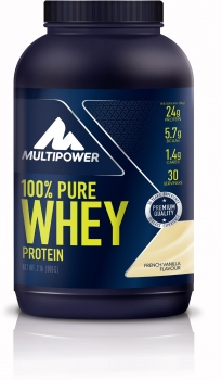Multipower 100% Pure Whey, 900 g Dose, Vanille
