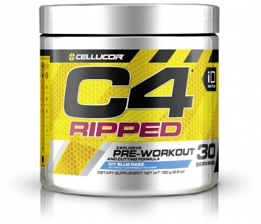 Cellucor C4 Ripped, 165 g Dose, Icy Blue Razz