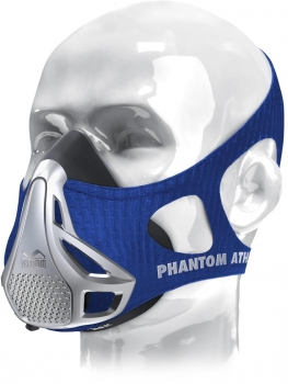 Phantom Athletics Sleeve Trainingsmaske, Blau, Gr. S