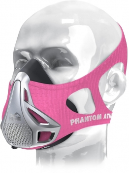 Phantom Athletics Sleeve Trainingsmaske, Pink, Gr. M