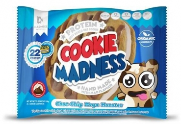 Cookie Madness Protein Cookie, 12 x 106 g, Choc-Chip Mega Monster