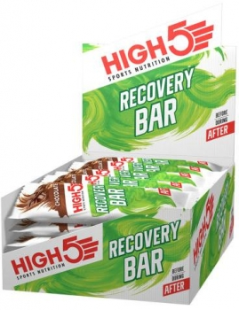 High5 Recovery Bar, 25 x 50g Riegel, Chocolate