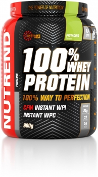 Nutrend 100% Whey Protein, 900 g Dose (Pistachio)