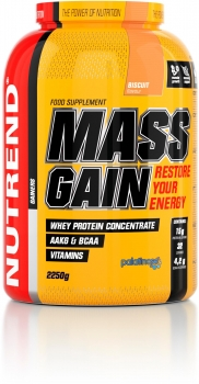Nutrend Mass Gain, 2250 g Dose (Biscuit)