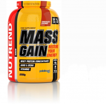 Nutrend Mass Gain, 2250 g Dose, Chocolate Coconut