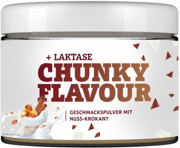 MORE 2 TASTE Chunky Flavours, 250 g Dose (Peanutbutter Cinnamon)