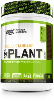 Optimum Nutrition 100 % Gold standard Plant Protein, 1.5 lb (Chocolate)