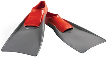 Finis Long Floating Fin Schwimmflossen Gr. L (7-9), Red/Grey (1.05.037.06)