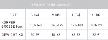 Finis Thermal Swim Shirt Thermo-Schwimmhemd (M)