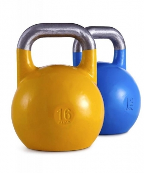 Ziva Competition Kettlebell 16kg, gelb